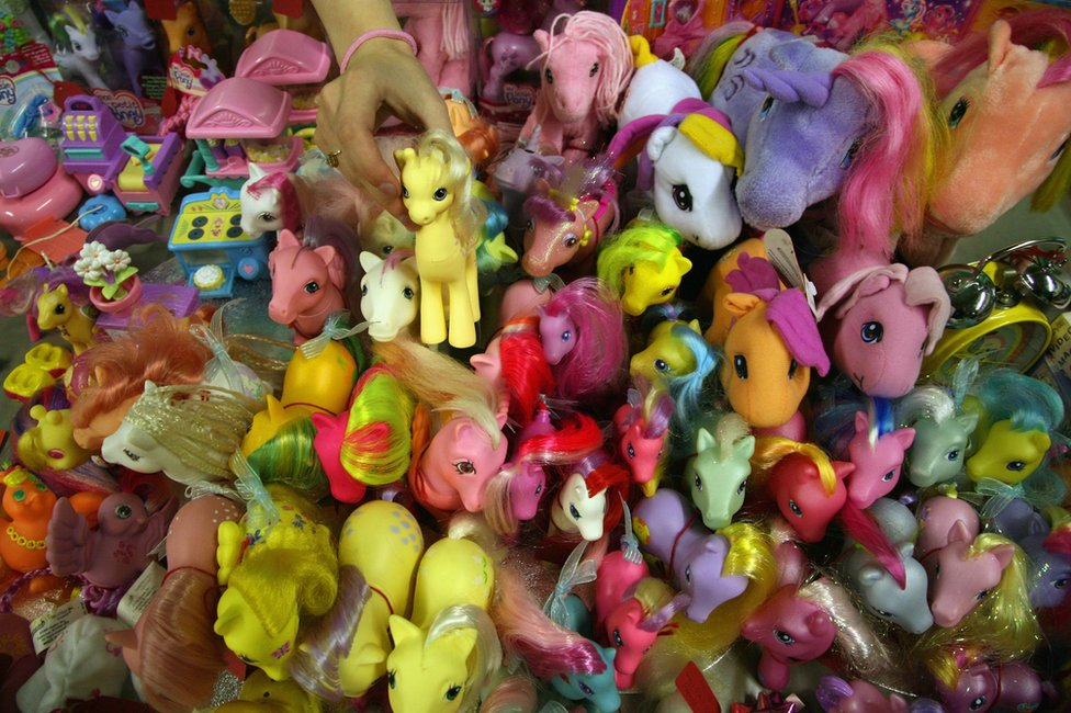 Lots of My Little Ponies