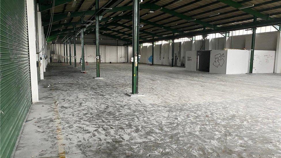 Warehouse in Yate, near Bristol