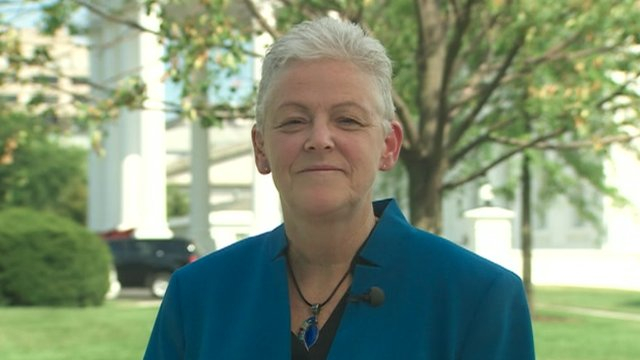 EPA Administrator Gina McCarthy speaks to the BBC from the White House