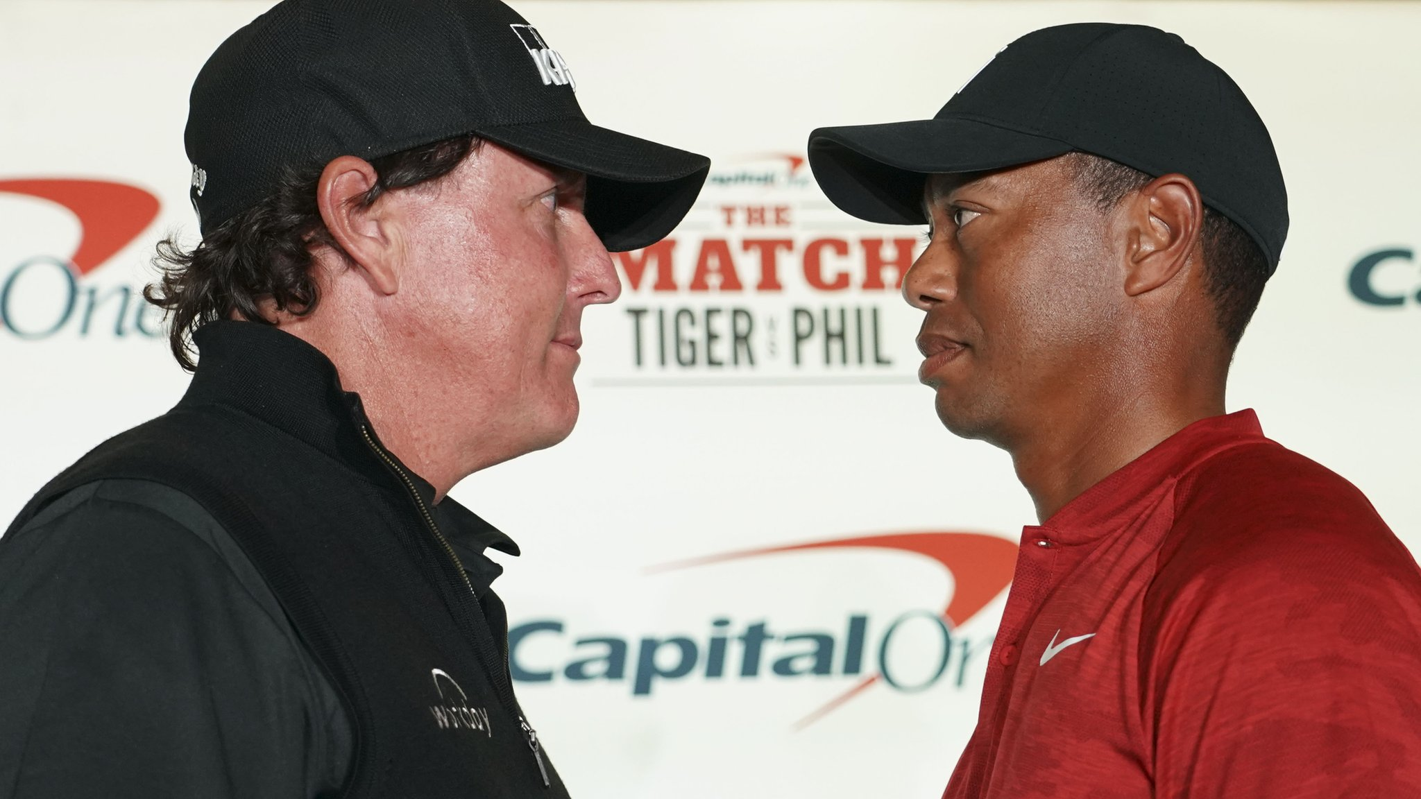 Tiger Woods v Phil Mickelson: Face-off aborted before pay-per-view duel