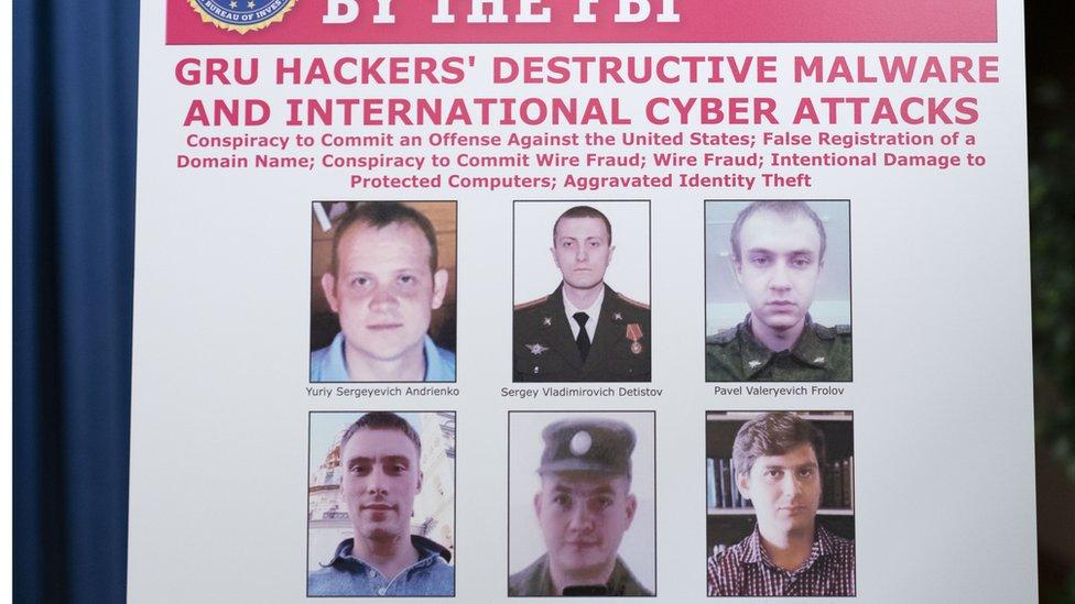 США и Великобритания обвинили шесть россиян в хакерских атаках на Олимпиаду и выборы во Франции
