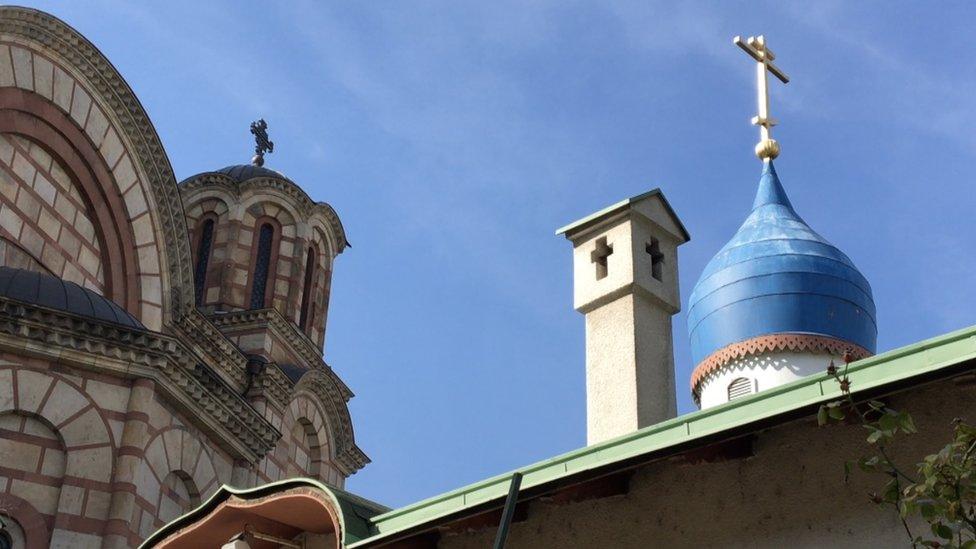 Ruska crkva u Beogradu pored Crkve svetog Marka
