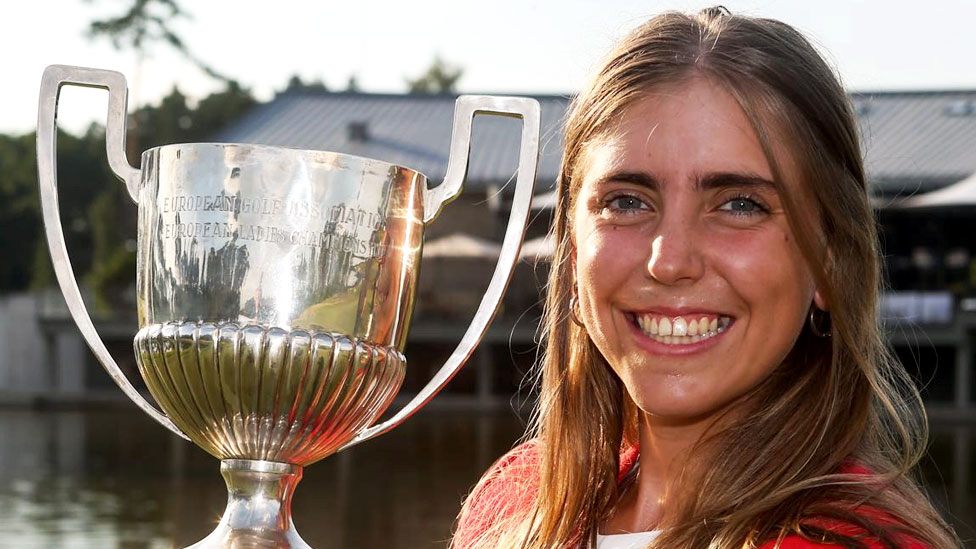 European amateur golf champion killed on US course
