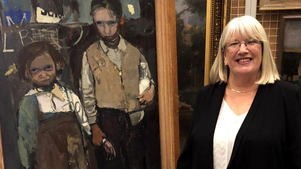 Joan Eardley painting: Woman sees her child self 63 years later
