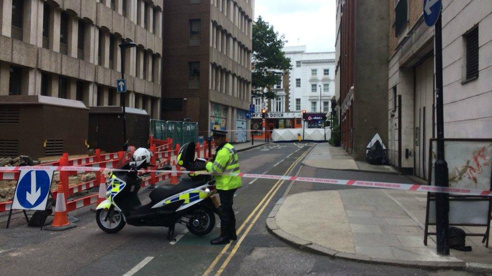 High Holborn cyclist killed in lorry crash