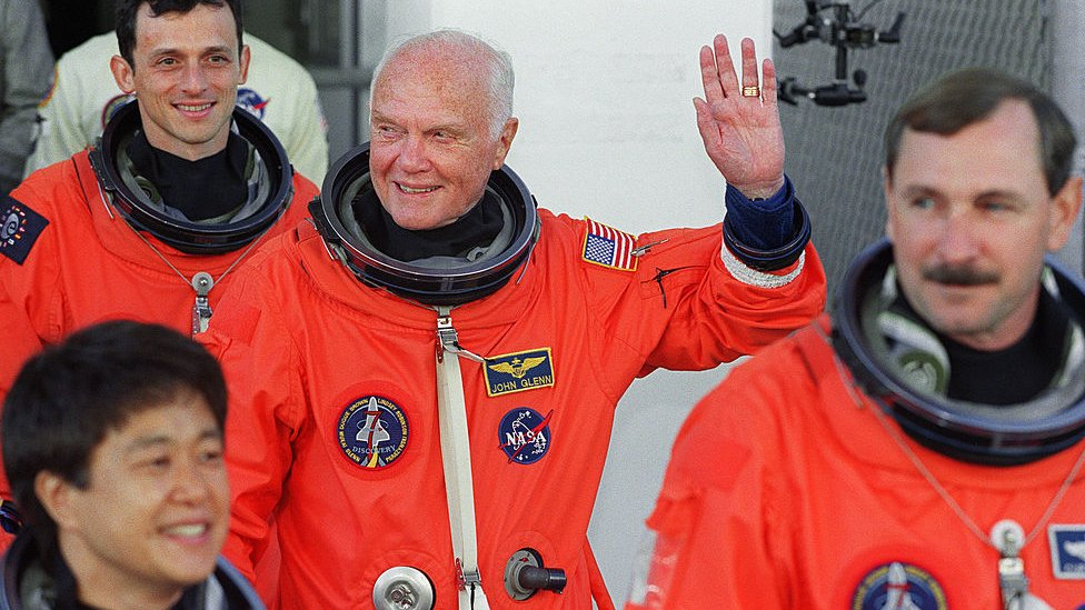 Glenn as an astronaut