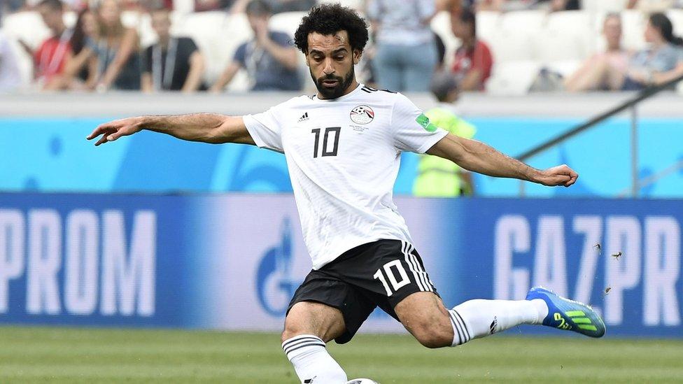 محمد صلاح أحرز 44 هدفا خلال الموسم الماضي