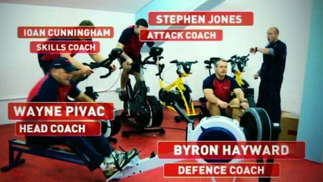Scarlets coaches