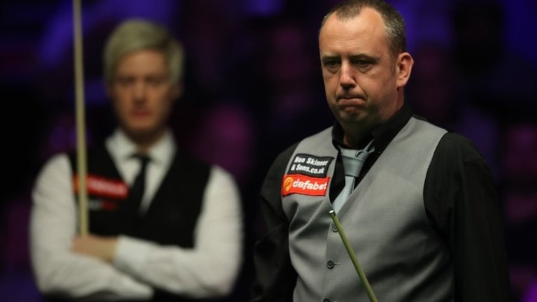 Masters Snooker 2019: Mark Williams loses to Neil Robertson