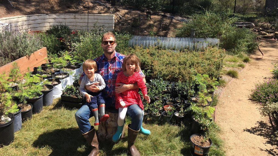 Cody says he struggles to explain the changing environment to his young children