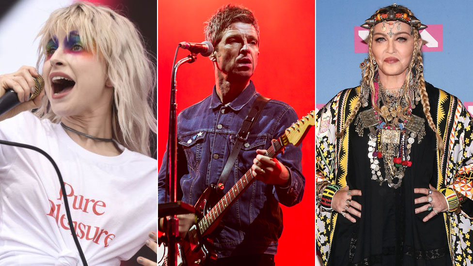 BBC News - Five artists who went off their biggest hits