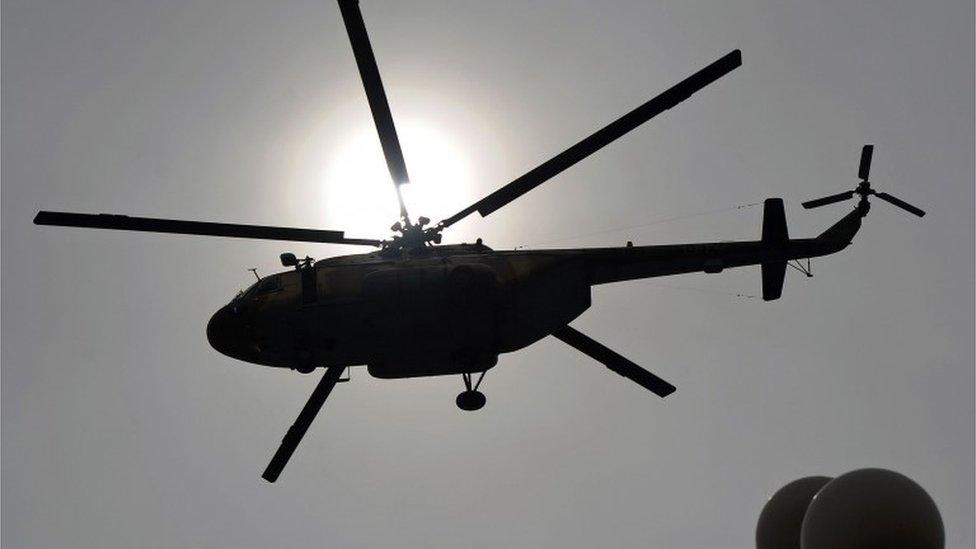 Russia-built Mi-17 (file picture)