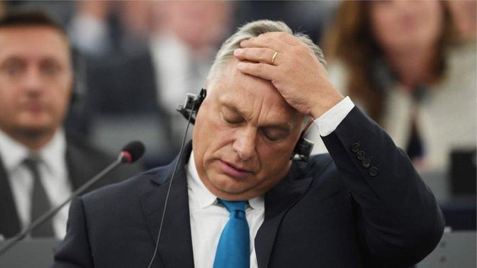 Віктор Орбан у парламенті
