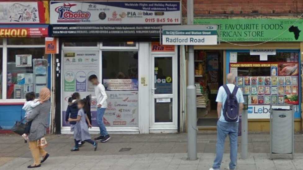 Radford Road tram stop
