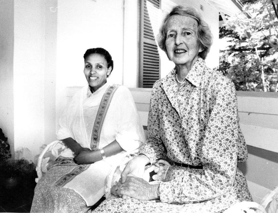Catherine Hamlin y Mamitu Gashe.