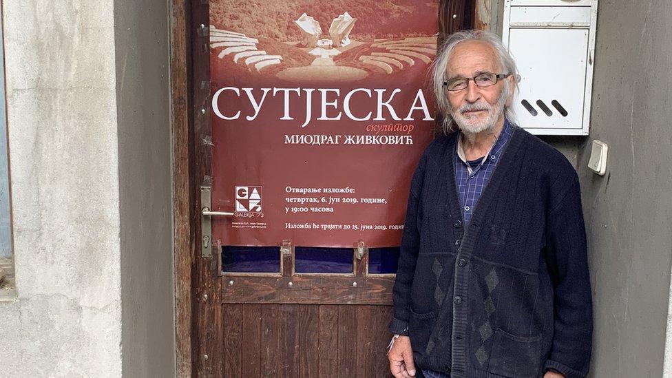 Miodrag Živković, Beograd, 2020.