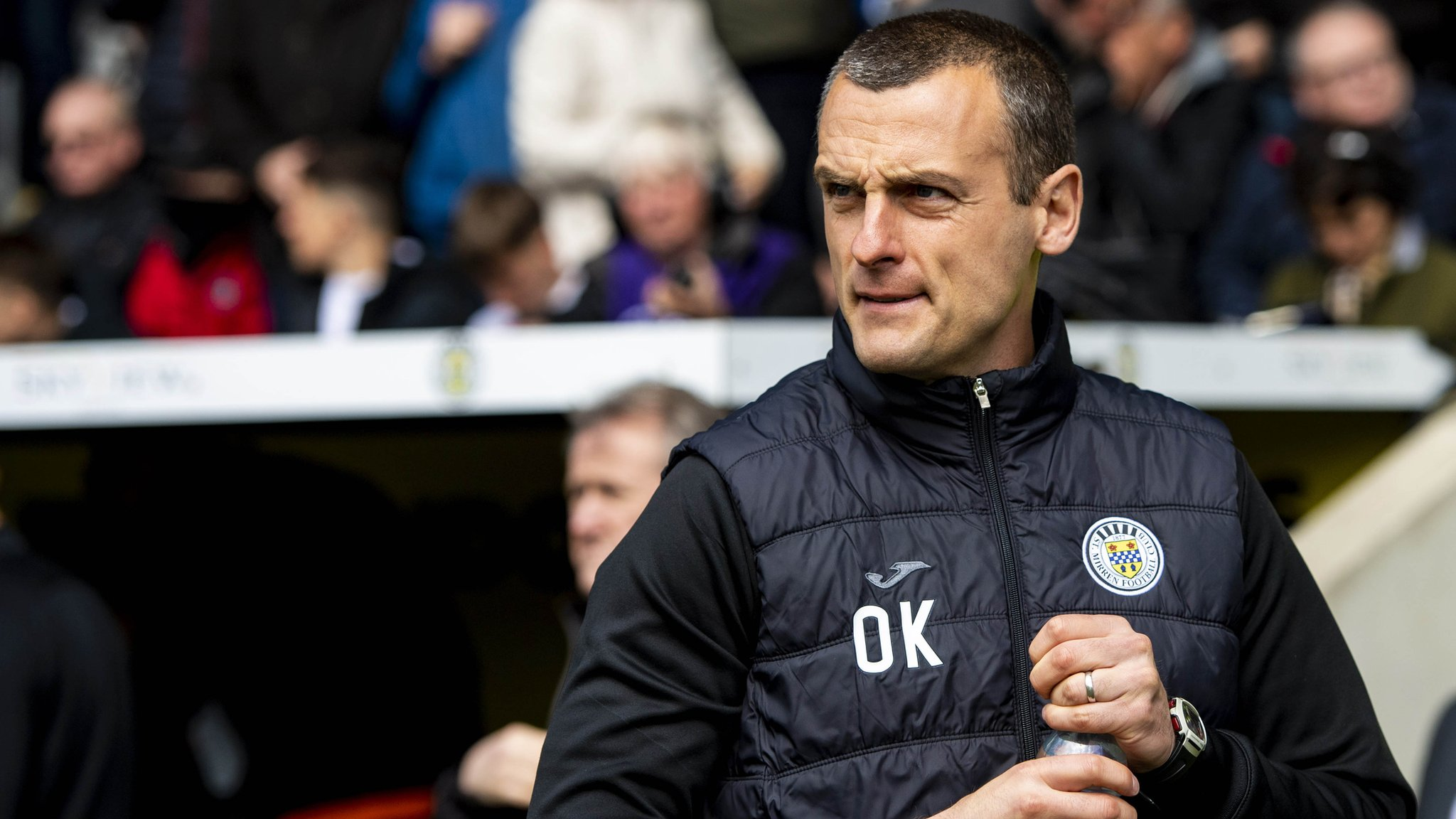 Oran Kearney to exit St Mirren less than a year after becoming manager