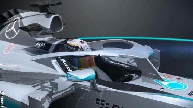 Mercedes closed cockpit concept