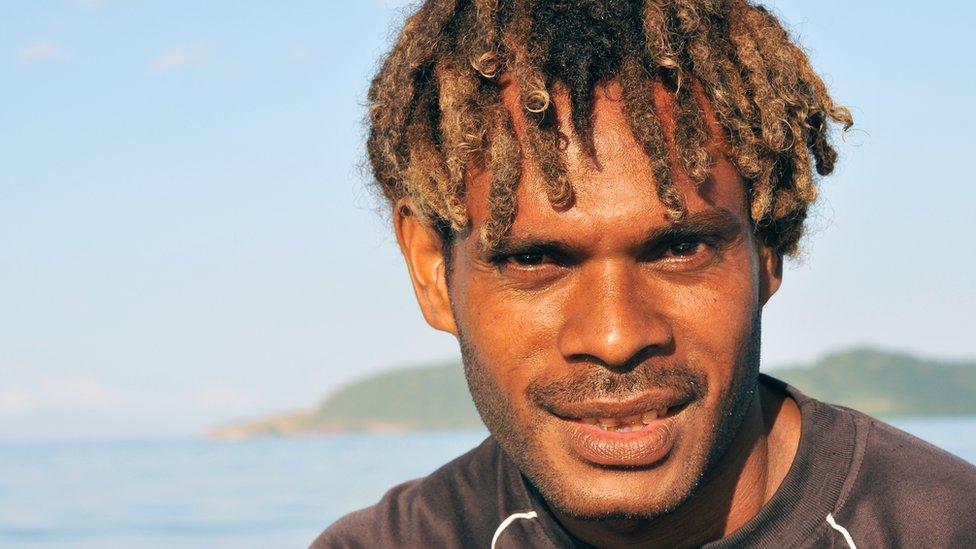 Habitante de Papúa Nueva Guinea