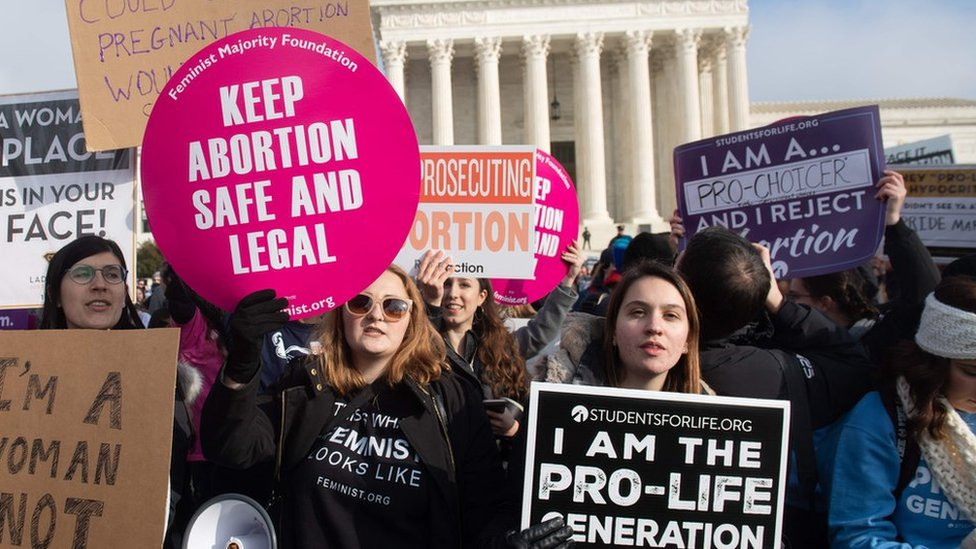 Trump breaks silence amid Alabama abortion ban row