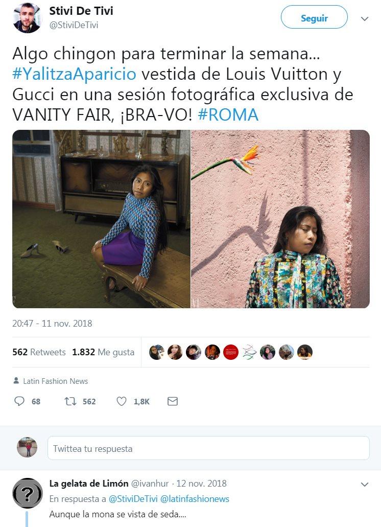 Un post de Twitter