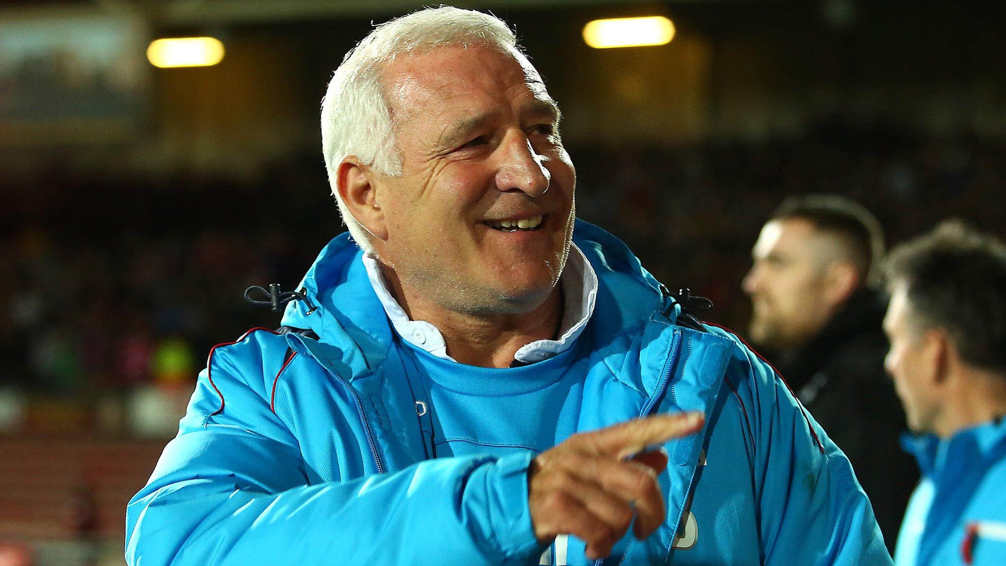 Graham Barrow: Wrexham confirm interim boss as new manager