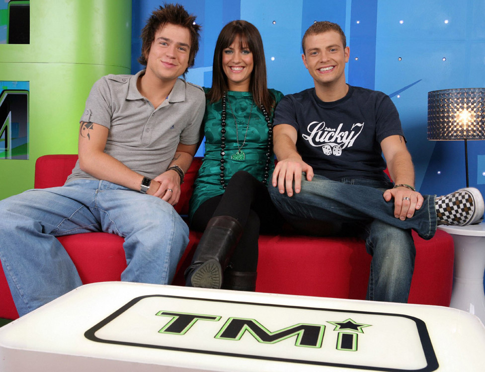 With Sam and Mark on TMi in 2007