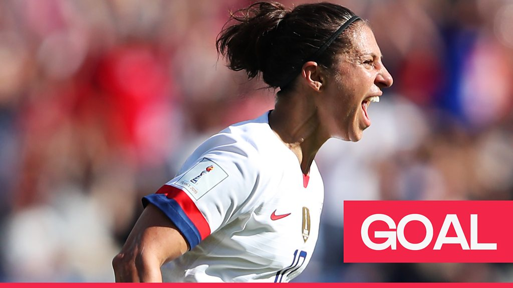 Women's World Cup 2019: USA's Carli Lloyd scores fantastic volley against Chile