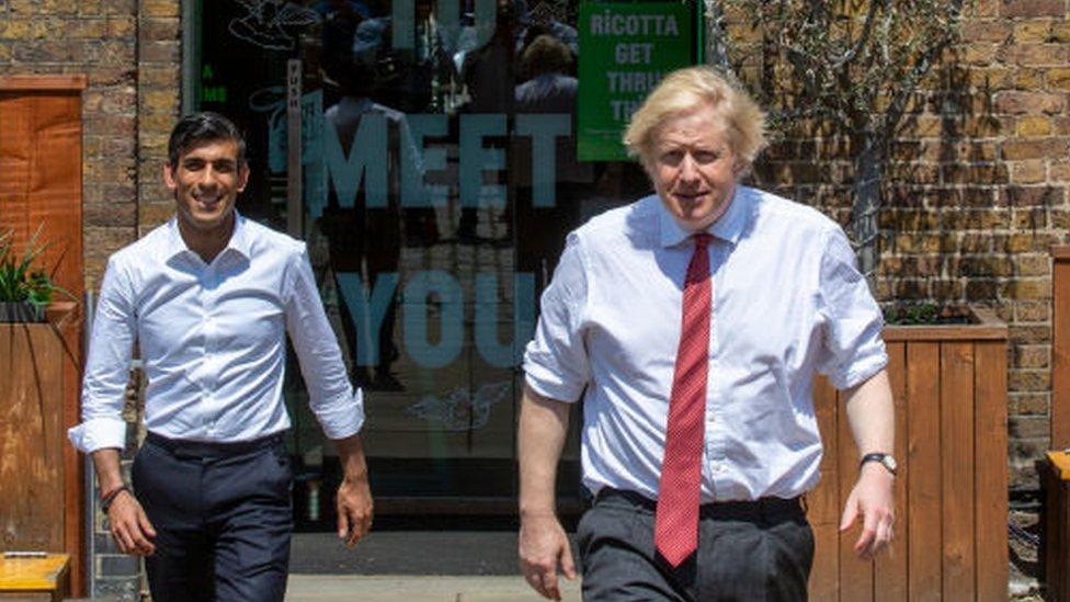蘇納克的風格跟首相約翰遜不同。