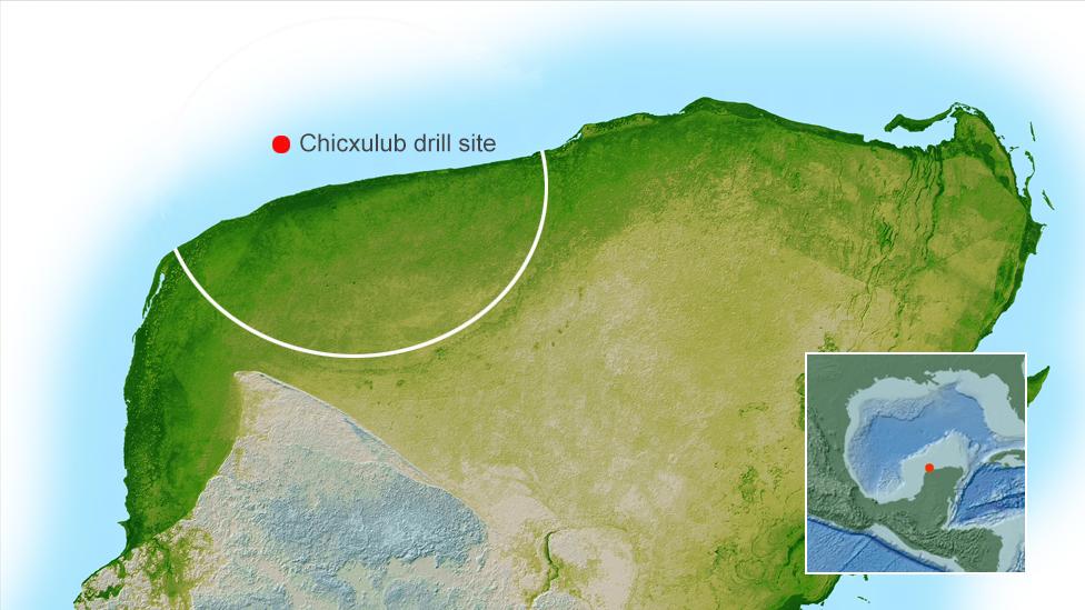 Sitio del cráter