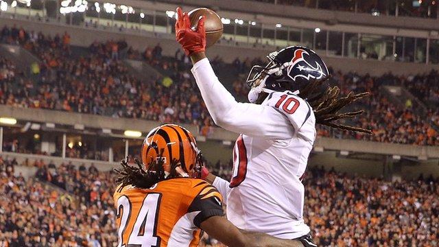 NFL: Houston Texan's DeAndre Hopkins' brilliance downs Cincinatti