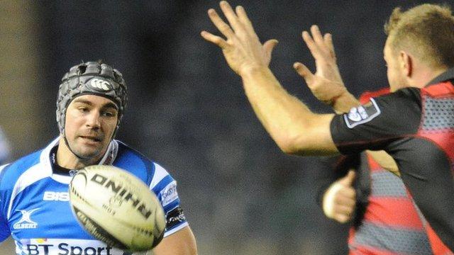 Adam Hughes attacks Edinburgh