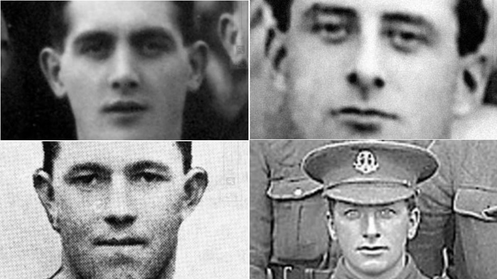 World War One: Trees planted to honour fallen footballers