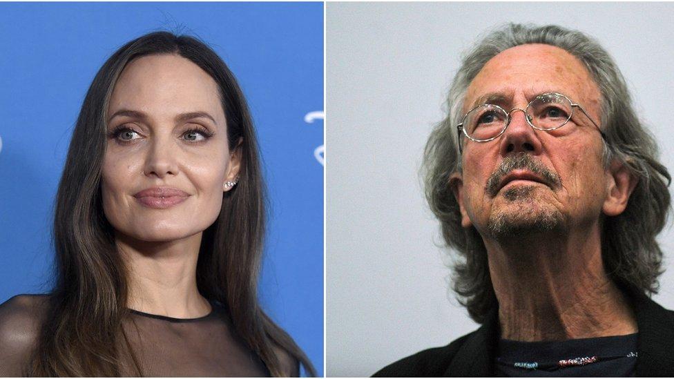 Andželina Džoli i Peter Handke - borci za ljudska prava na suprotnim stranama