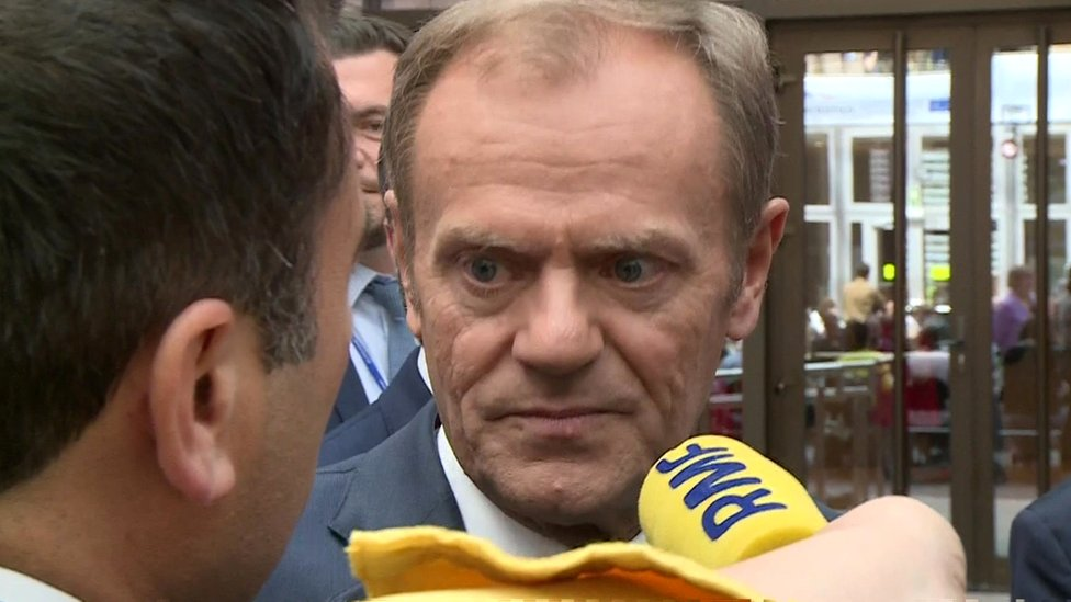 UK 'wasting time' during Brexit extension – Donald Tusk