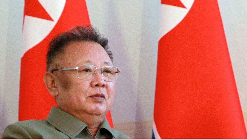 KIm Jong-il, en un viaje a Rusia en 2011.