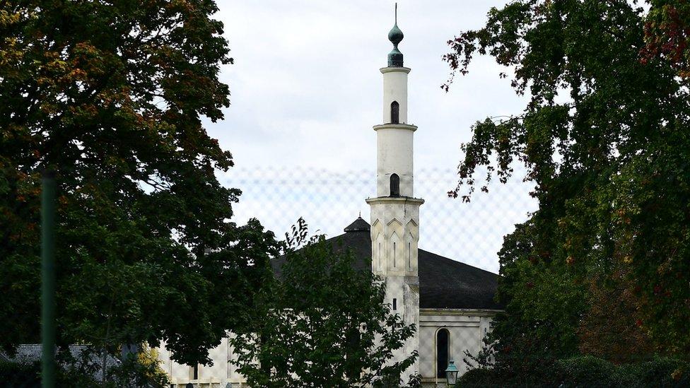 Masjid di Belgia