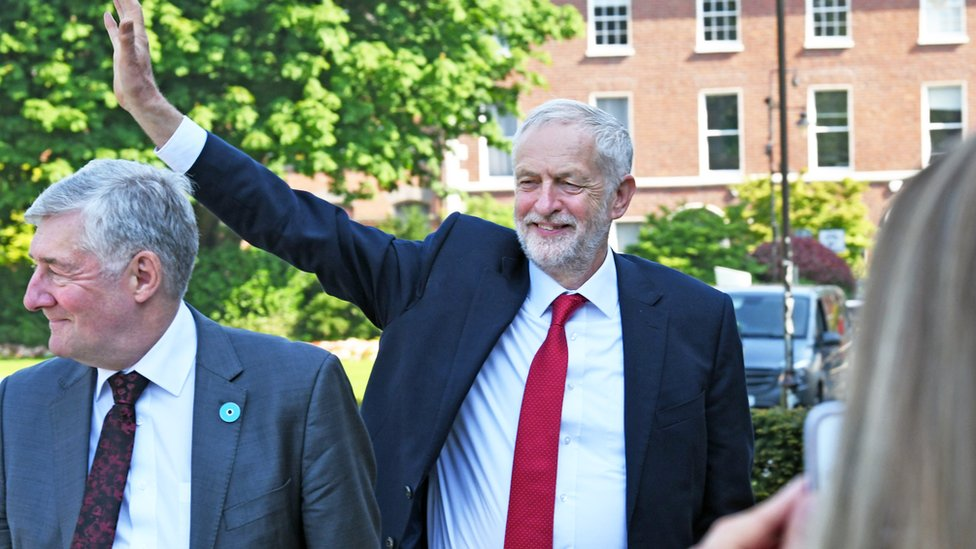 Labour would be neutral in any border poll - Jeremy Corbyn
