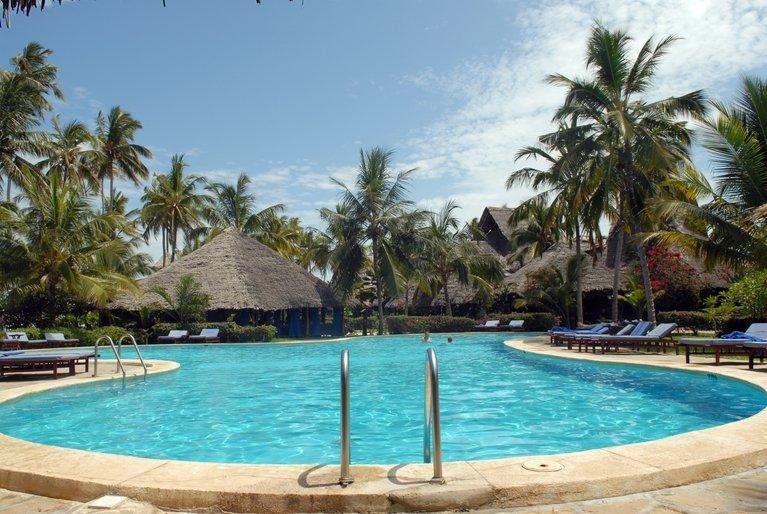 Hotelski bazen (ilustracija)