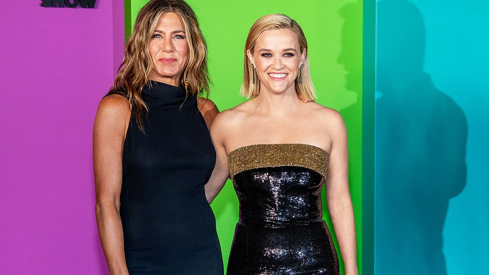 Jennifer Aniston and Reece Witherspoon