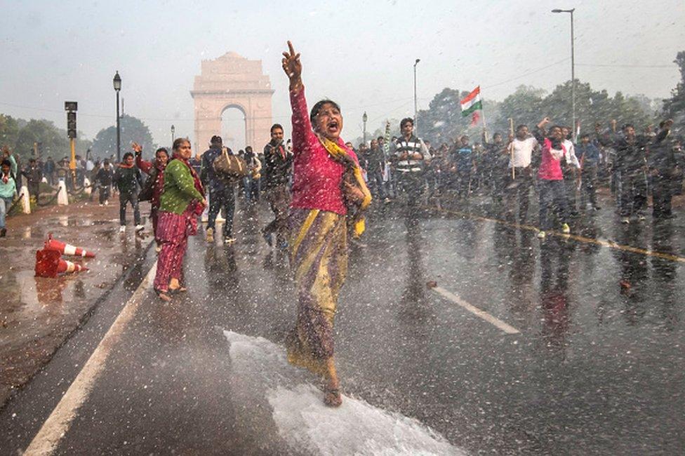 Indija protesti