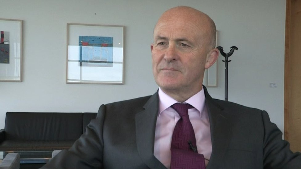 Eamonn O'Reilly, the Chief Executive of Dublin Port