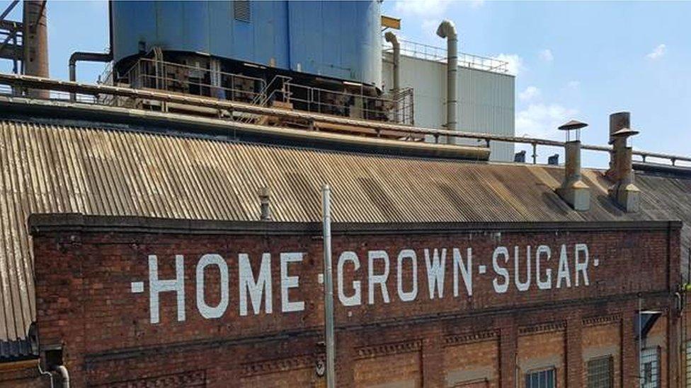 British Sugar's factory in Newark