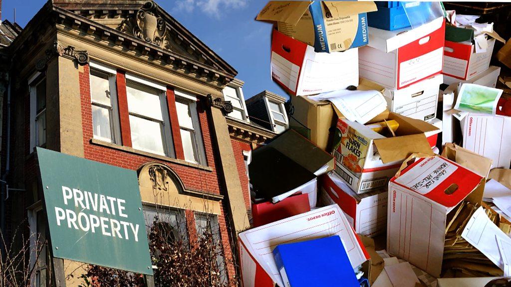 Thousands of patient files left in Westbury House Nursing Home