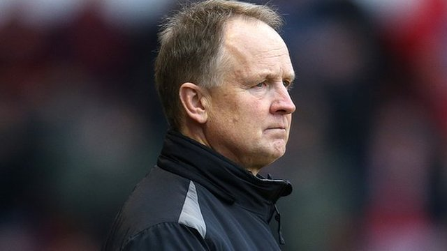 Walsall manager Sean O'Driscoll