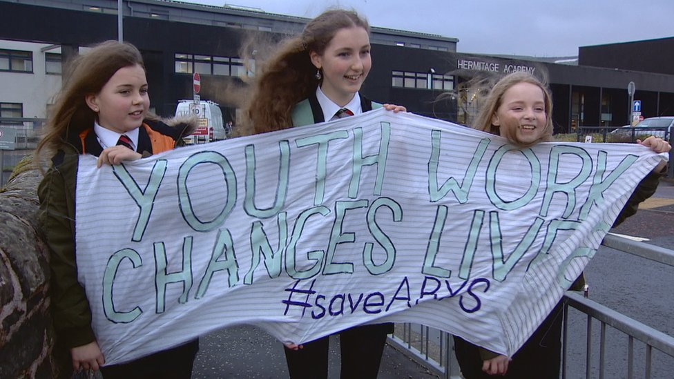 Argyll and Bute Council passes budget despite youth protests