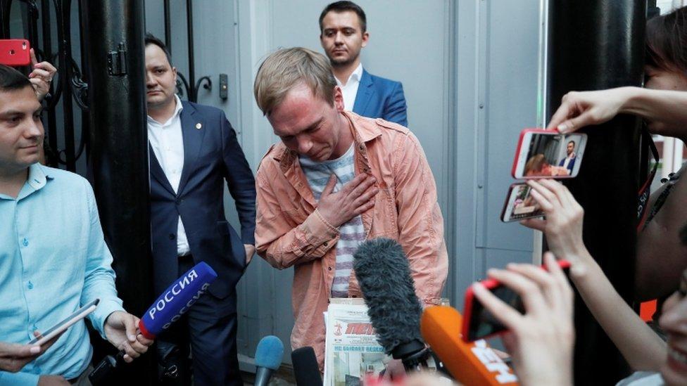 Golunov je pisao o cenzuri i korupciji