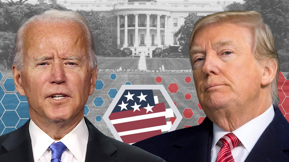 US Election 2020: Can you only vote Trump or Biden and other questions -  BBC News