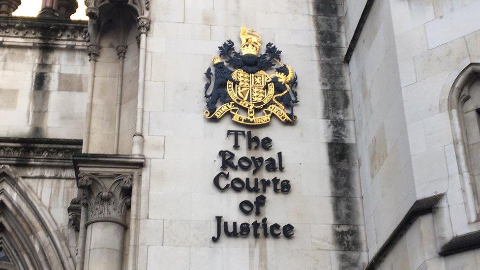 Zgrada suda u Londonu