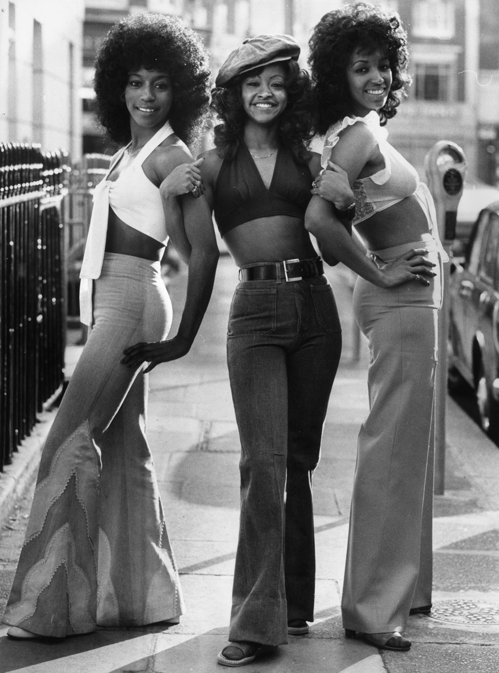 The Three Degrees in 1974 - Sheila Ferguson, Valerie Holiday and Fayette Pinkney